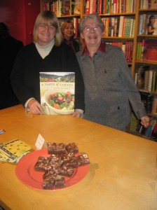 Signing at The Cookbook Store