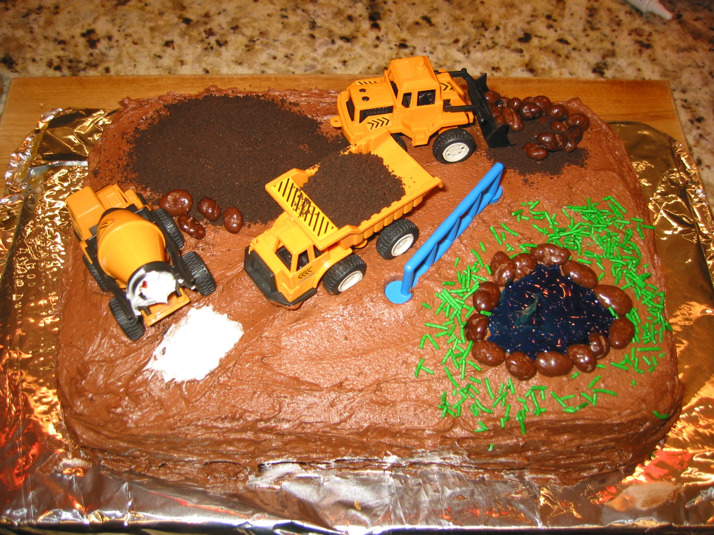 Birthday Cake Ideas Truck For Boy
